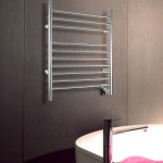 WarmlyYours infinity towel warmer