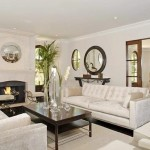 Kim Kardashian House Luxury Mansion Fireplace living Room