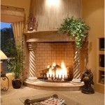 Original mantel with columns -fireplace-pillars-of design