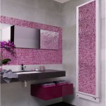 DeLonghi decorative radiator DECO Pink Mosaic Tile