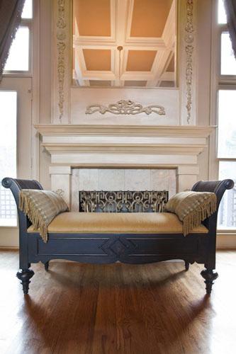Fireplace-mirror