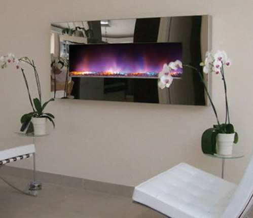 chrome-wall-gas-fireplace