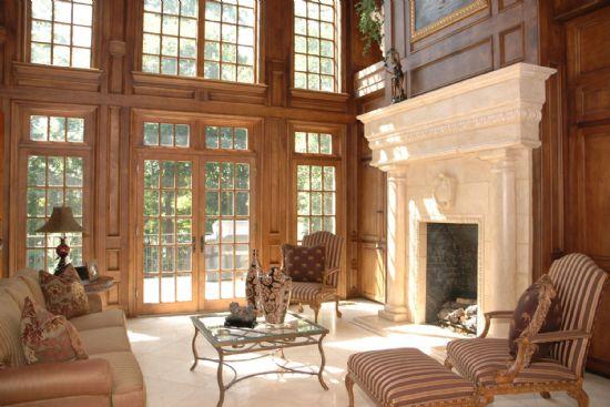 stunning enormous mantel fireplace