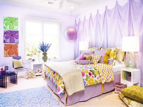Spring home Decorating bedroom Interior Design