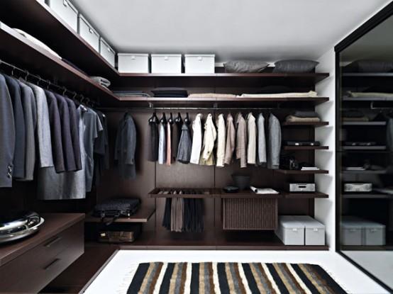 Modern closet - classic and timeless